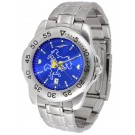 McNeese State Cowboys Sport Steel Band Ano-Chrome Men's Watch