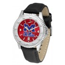 Mississippi (Ole Miss) Rebels Competitor AnoChrome Men's Watch with Nylon/Leather Band