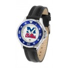 Mississippi (Ole Miss) Rebels Competitor Ladies Watch with Leather Band