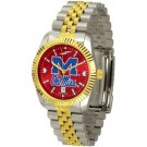 Mississippi (Ole Miss) Rebels Executive AnoChrome Men's Watch by