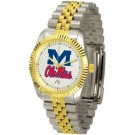 """Mississippi (Ole Miss) Rebels """"The Executive"""" Men's Watch"""