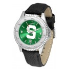 Michigan State Spartans Competitor AnoChrome Men's Watch with Nylon / Leather Band