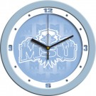 "Morehead State Eagles 12"" Blue Wall Clock"