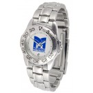 Morehead State Eagles Gameday Sport Ladies' Watch with a Metal Band