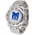 Morehead State Eagles Sport Steel Band Men's Watch