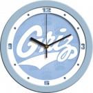"""Montana Grizzlies 12"""" Blue Wall Clock"""