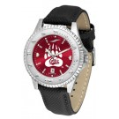 Montana Grizzlies Competitor AnoChrome Men's Watch with Nylon/Leather Band