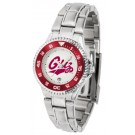 Montana Grizzlies Competitor Ladies Watch with Steel Band