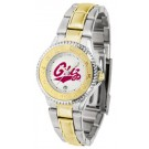 Montana Grizzlies Competitor Ladies Watch with Two-Tone Band