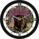 "Montana Grizzlies 12"" Camo Wall Clock"