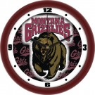 "Montana Grizzlies 12"" Dimension Wall Clock"