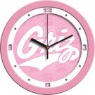 "Montana Grizzlies 12"" Pink Wall Clock"