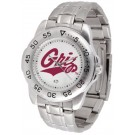 Montana Grizzlies Sport Steel Band Men's Watch