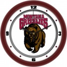 "Montana Grizzlies Traditional 12"" Wall Clock"