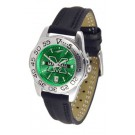 Marshall Thundering Herd Sport AnoChrome Ladies Watch with Leather Band