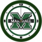 "Marshall Thundering Herd Traditional 12"" Wall Clock"