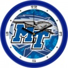 "Middle Tennessee State Blue Raiders 12"" Dimension Wall Clock"