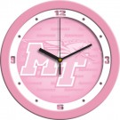 "Middle Tennessee State Blue Raiders 12"" Pink Wall Clock"