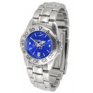 Middle Tennessee State Blue Raiders Sport AnoChrome Ladies Watch with Steel Band