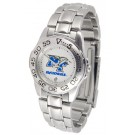 Middle Tennessee State Blue Raiders Gameday Sport Ladies' Watch with a Metal Band
