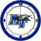 "Middle Tennessee State Blue Raiders Traditional 12"" Wall Clock"