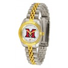 Miami (Ohio) RedHawks Ladies' Executive Watch by Suntime