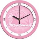 "Miami (Ohio) RedHawks 12"" Pink Wall Clock"