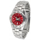 Miami (Ohio) RedHawks Sport AnoChrome Ladies Watch with Steel Band