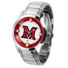 Miami (Ohio) RedHawks Titan Steel Watch
