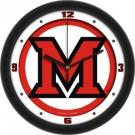 "Miami (Ohio) RedHawks Traditional 12"" Wall Clock"