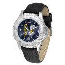 Navy Midshipmen Competitor AnoChrome Men's Watch with Nylon/Leather Band