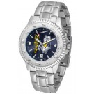 Navy Midshipmen Competitor AnoChrome Men's Watch with Steel Band