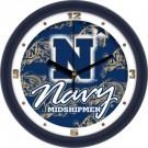 "Navy Midshipmen 12"" Dimension Wall Clock"