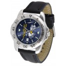 Navy Midshipmen Sport AnoChrome Men's Watch with Leather Band