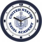 "Navy Midshipmen Traditional 12"" Wall Clock"