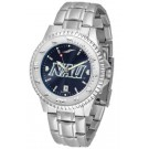 Northern Arizona (NAU) Lumberjacks Competitor AnoChrome Men's Watch with Steel Band