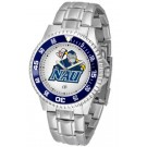 Northern Arizona (NAU) Lumberjacks Competitor Watch with a Metal Band