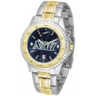 Northern Arizona (NAU) Lumberjacks Competitor AnoChrome Two Tone Watch