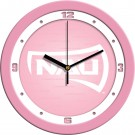 "Northern Arizona (NAU) Lumberjacks 12"" Pink Wall Clock"