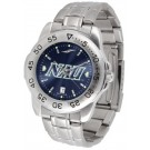 Northern Arizona (NAU) Lumberjacks Sport Steel Band Ano-Chrome Men's Watch