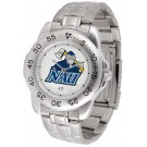 Northern Arizona (NAU) Lumberjacks Sport Steel Band Men's Watch