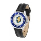 North Carolina A & T Aggies Competitor Ladies Watch with Leather Band