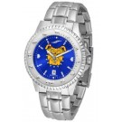 North Carolina A & T Aggies Competitor AnoChrome Men's Watch with Steel Band