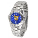 North Carolina A & T Aggies Sport AnoChrome Ladies Watch with Steel Band