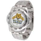North Carolina A & T Aggies Sport Steel Band Men's Watch