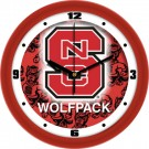 "North Carolina State Wolfpack 12"" Dimension Wall Clock"