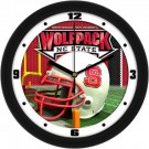 "North Carolina State Wolfpack 12"" Helmet Wall Clock"