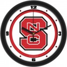 "North Carolina State Wolfpack Traditional 12"" Wall Clock"