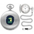 North Carolina (Wilmington) Seahawks Silver Pocket Watch