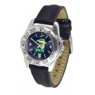 North Carolina (Wilmington) Seahawks Sport AnoChrome Ladies Watch with Leather Band